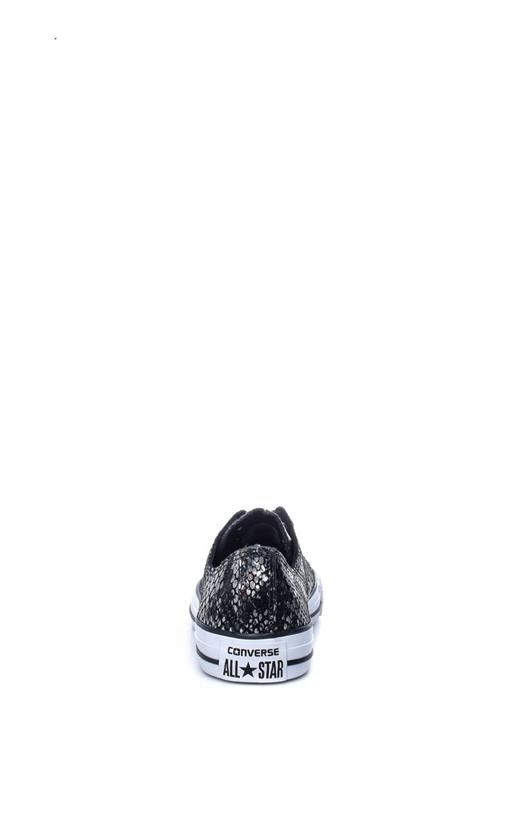 CONVERSE-Γυναικεία παπούτσια Chuck Taylor All Star Ox μαύρα-γκρι