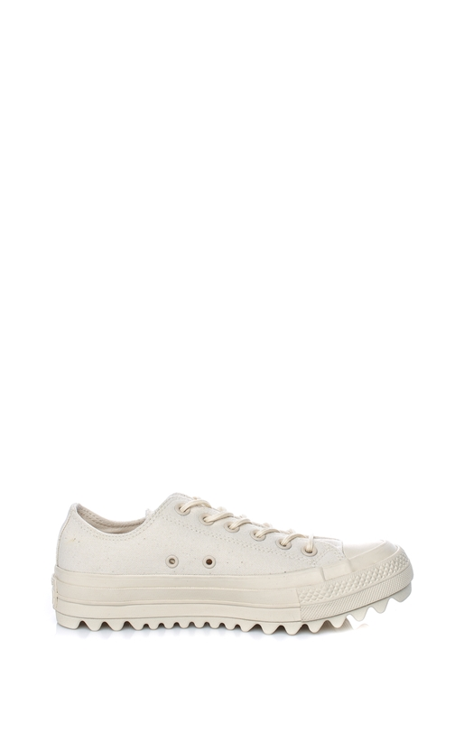 CONVERSE-Γυναικεία sneakers Converse Chuck Taylor All Star Lift Rip μπεζ