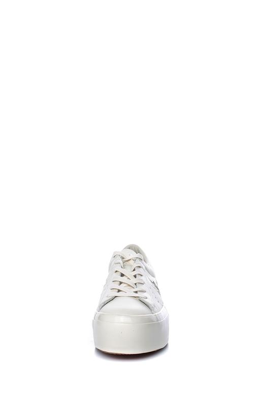CONVERSE-Γυναικεία παπούτσια One Star Platform Ox εκρού