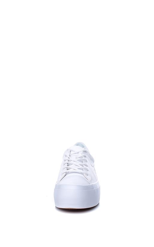 CONVERSE-Γυναικεία παπούτσια One Star Platform Ox λευκά