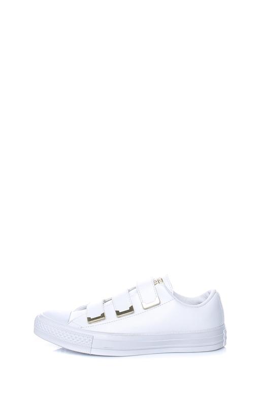 CONVERSE-Γυναικεία παπούτσια CONVERSE Chuck Taylor All Star 3V Ox λευκά