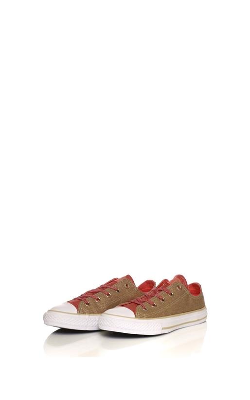 CONVERSE-Κοριτσίστικα παπούτσια CONVERSE Chuck Taylor All Star Ox χρυσά-πορτοκαλί