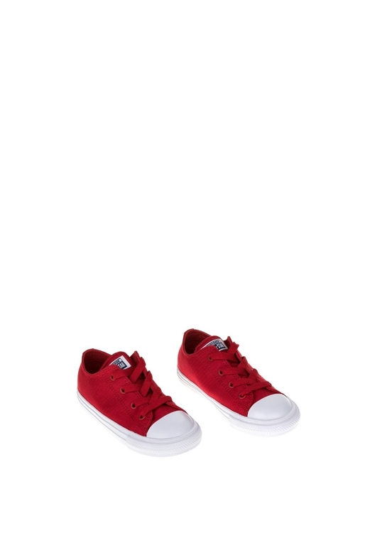 CONVERSE-Βρεφικά παπούτσια Chuck Taylor All Star II Ox κόκκινα