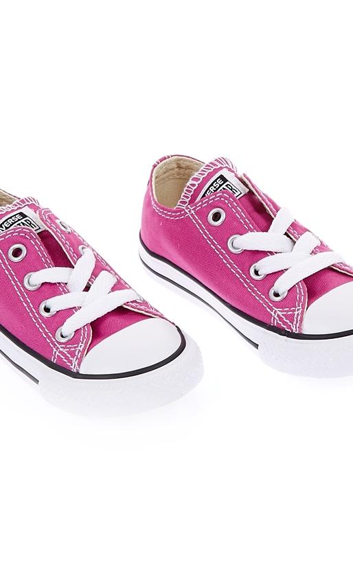CONVERSE-Βρεφικά παπούτσια Chuck Taylor All Star Ox ροζ