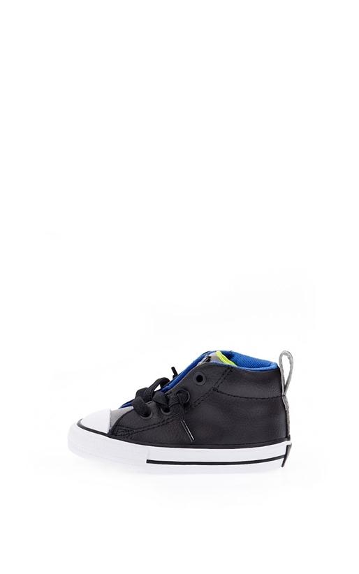 Βρεφικά παπούτσια Chuck Taylor All Star Street M μαύρα - CONVERSE ... 3a1842f1581