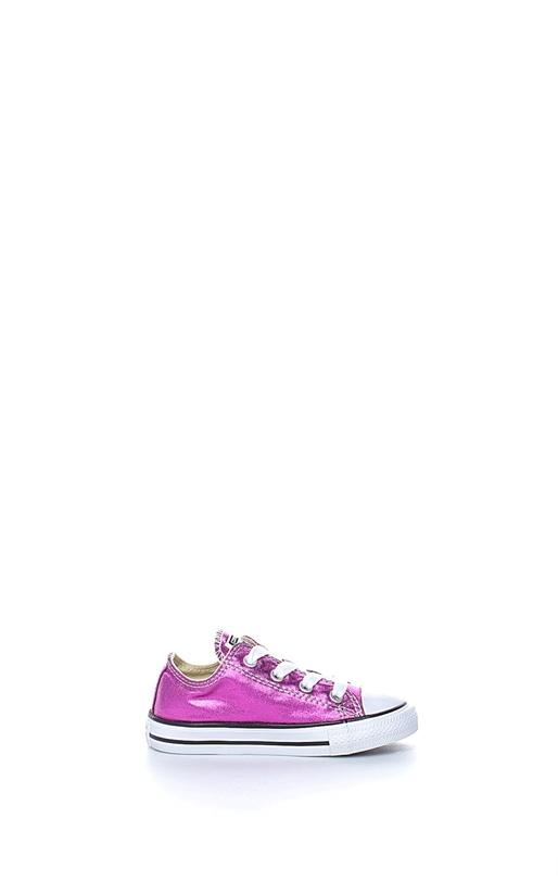 CONVERSE-Βρεφικά παπούτσια Chuck Taylor All Star Ox ροζ-μωβ