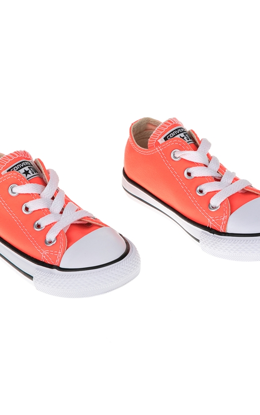 CONVERSE-Βρεφικά παπούτσια Chuck Taylor All Star Ox πορτοκαλί