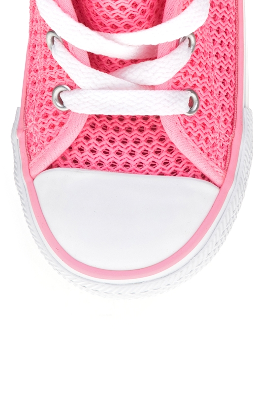 CONVERSE-Βρεφικά παπούτσια Chuck Taylor All Star Double T ροζ