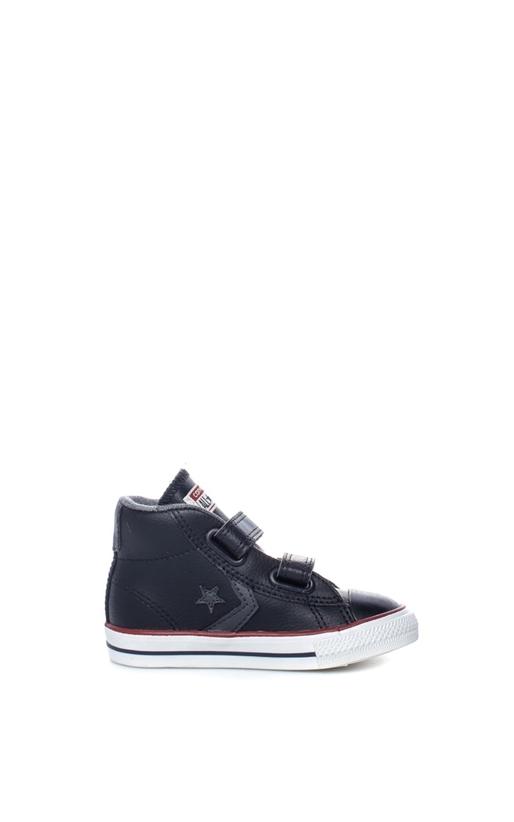CONVERSE-Βρεφικά παπούτσια Star Player EV V Mid μαύρα