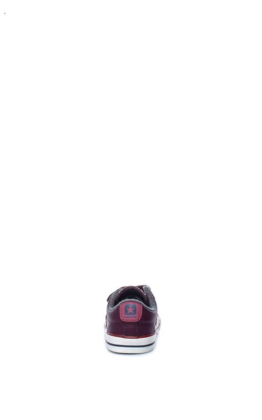 CONVERSE-Βρεφικά παπούτσια Star Player EV V Ox μπορντώ