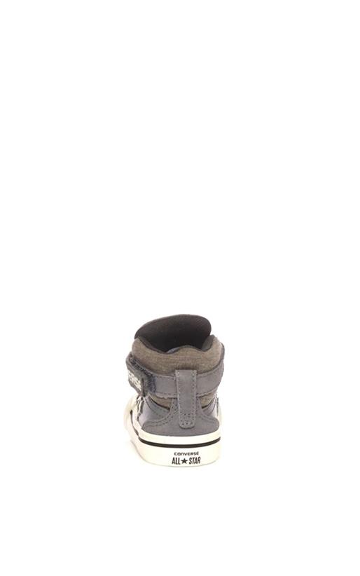 CONVERSE-Βρεφικά παπούτσια CONVERSE Pro Blaze Strap Stretch Hi καφέ