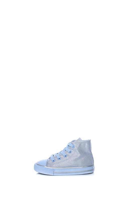 CONVERSE-Βρεφικά παπούτσια CONVERSE Chuck Taylor All Star Hi γαλάζια