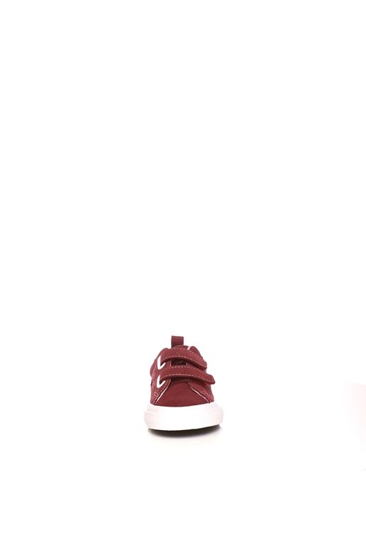 CONVERSE-Βρεφικά sneakers CONVERSE ONE STAR 2V μπορντό