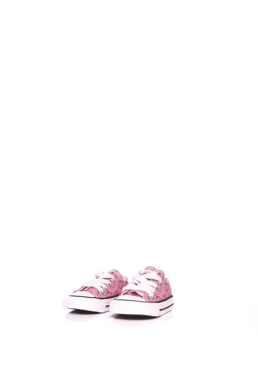 7db0fe6a5ff CONVERSE-Βρεφικά παπούτσια Converse X Hello Kitty Chuck Taylor All Star ροζ