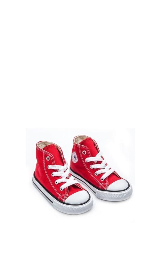 CONVERSE-Βρεφικά μποτάκια Chuck Taylor κόκκινα