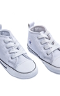 CONVERSE-Βρεφικά παπούτσια Chuck Taylor First Star λευκά