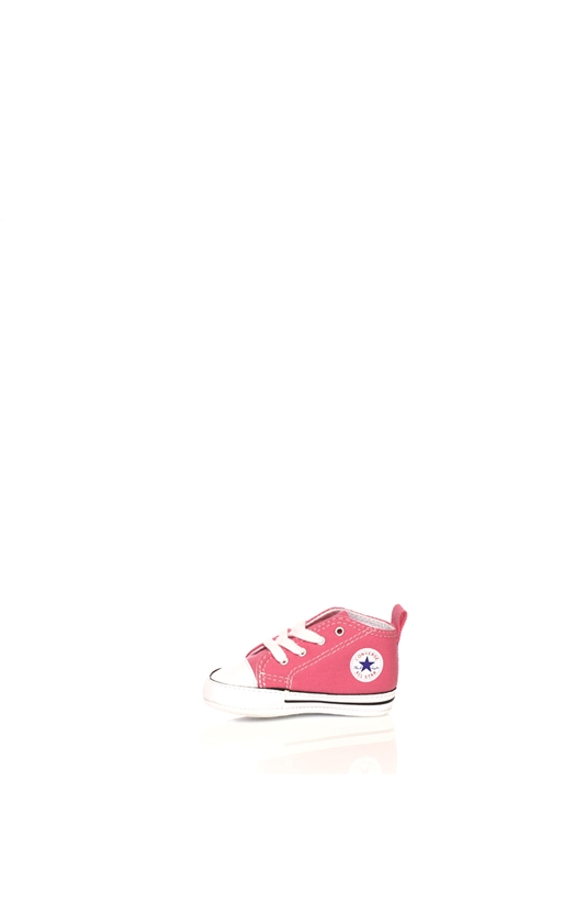CONVERSE-Βρεφικό μποτάκι Converse Chuck Taylor First Star Hi ροζ