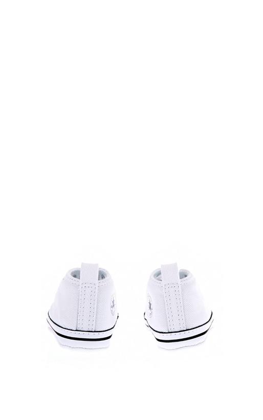 CONVERSE-Βρεφικά παπούτσια Chuck Taylor First Star Hi λευκά