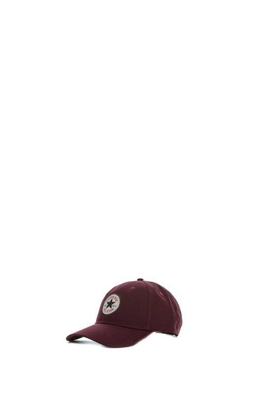 CONVERSE-Unisex καπέλο CORE CAP CONVERSE μπορντό