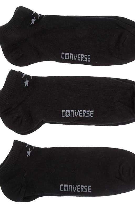 CONVERSE-Ανδρικό σετ κάλτσες Converse μαύρες