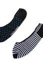 CONVERSE-Ανδρικό σετ κάλτσες CONVERSE μαύρες-μπλε-άσπρες