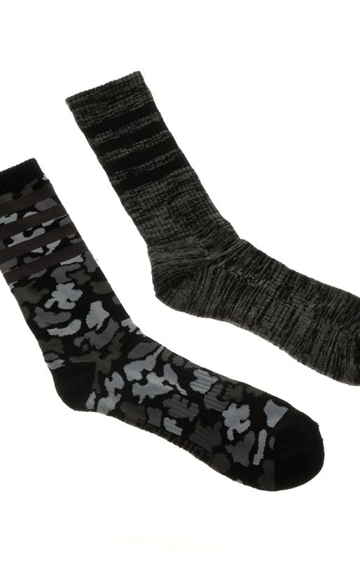 CONVERSE-Σετ ψηλές ανδρικές κάλτσες Converse Hodgeman Camo + Slub stripe Mi