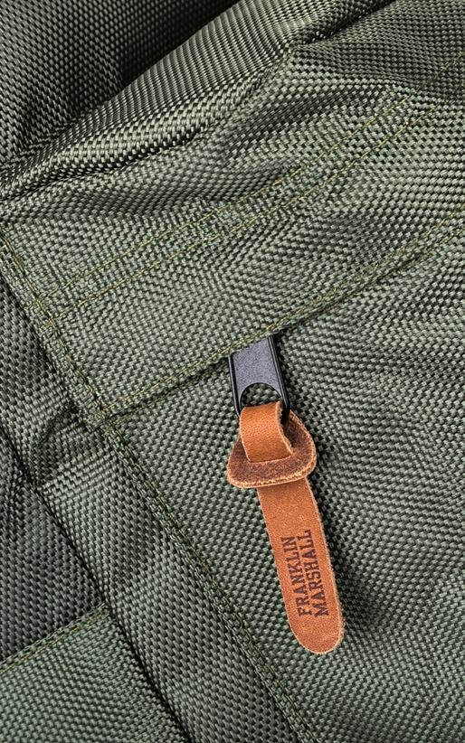 FRANKLIN & MARSHALL-Τσάντα πλάτης Franklin & Marshall χακί