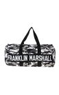 FRANKLIN & MARSHALL-Unisex σακίδιο FRANKLIN & MARSHALL μαύρο-γκρι