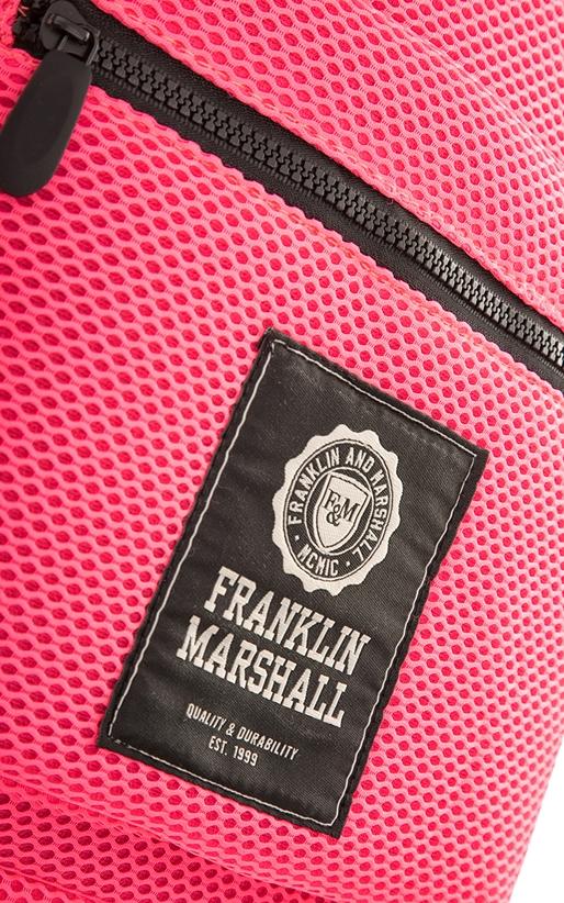 FRANKLIN & MARSHALL-Unisex σακίδιο πλάτης FRANKLIN & MARSHALL φούξια