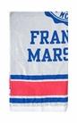 FRANKLIN & MARSHALL-Πετσέτα θαλάσσης Franklin & Marshall γκρι