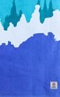 FRANKLIN & MARSHALL-Πετσέτα θαλάσσης Franklin & Marshall μπλε
