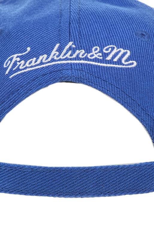 FRANKLIN & MARSHALL-Unisex καπέλο Franklin & Marshall μπλε - κόκκινο