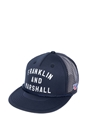 FRANKLIN & MARSHALL-Καπέλο τζόκεϋ Franklin & Marshall μπλε