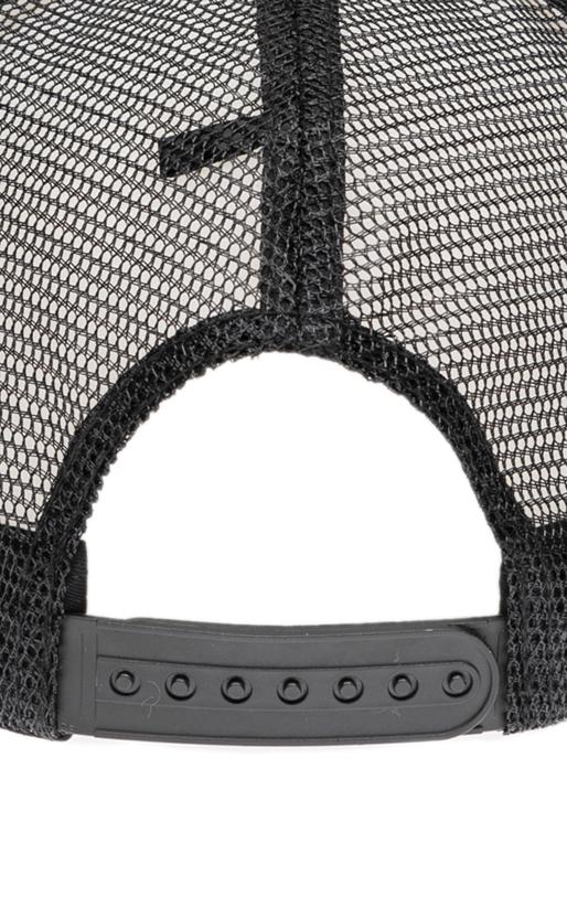 FRANKLIN & MARSHALL-Καπέλο τζόκεϋ Franklin & Marshall μαύρο-λευκό