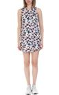 FRANKLIN & MARSHALL-Γυναικείο μίνι φόρεμα Franklin & Marshall πολύχρωμο