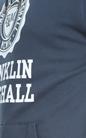 FRANKLIN & MARSHALL-Ανδρικό φούτερ FRANKLIN & MARSHALL μπλε