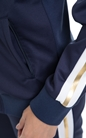 FRANKLIN & MARSHALL-Γυναικεία ζακέτα FRANKLIN & MARSHALL μπλε