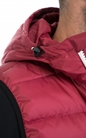 FRANKLIN & MARSHALL-Αντρικό μπουφάν FRANKLIN & MARSHALL κόκκινο