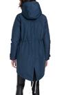 FRANKLIN & MARSHALL-Γυναικείο μπουφάν FRANKLIN & MARSHALL μπλε
