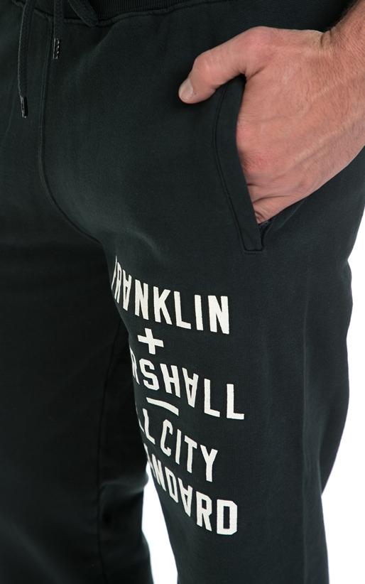FRANKLIN & MARSHALL-Ανδρική φόρμα FRANKLIN & MARSHALL πράσινη