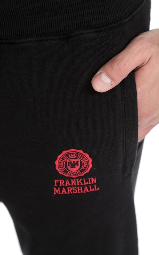 FRANKLIN & MARSHALL-Ανδρική φόρμα FRANKLIN & MARSHALL μαύρη