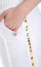 FRANKLIN & MARSHALL-Γυναικεία φόρμα FRANKLIN & MARSHALL λευκή