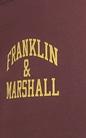 FRANKLIN & MARSHALL-Γυναικεία φόρμα FRANKLIN & MARSHALL μπορντό