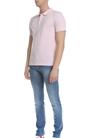 FRANKLIN & MARSHALL-Ανδρική κοντομάνικη polo μπλούζα Franklin & Marshall ροζ