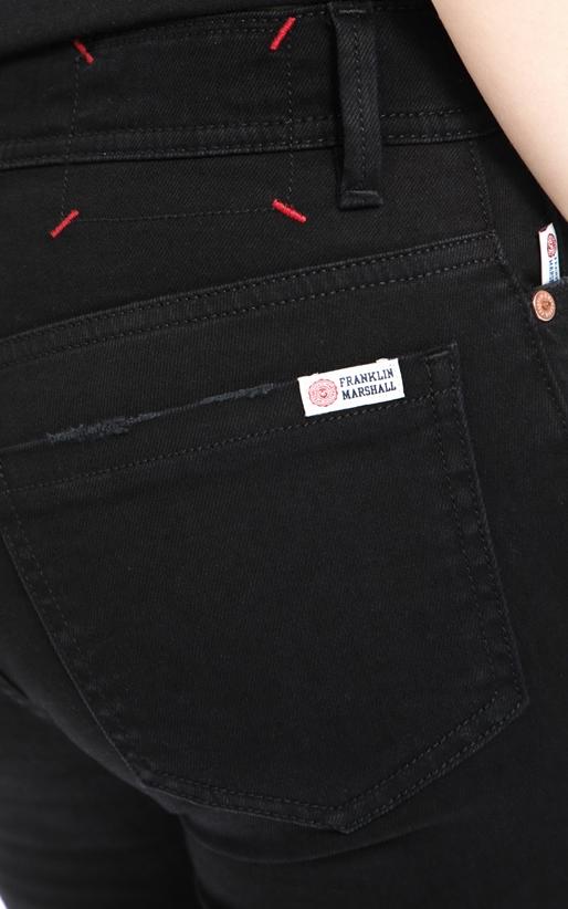 FRANKLIN & MARSHALL-Γυναικείο παντελόνι Franklin & Marshall μαύρο