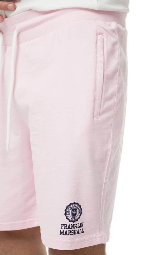 FRANKLIN & MARSHALL-Ανδρική βερμούδα Franklin & Marshall ροζ