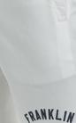 FRANKLIN & MARSHALL-Ανδρική βερμούδα Franklin & Marshall λευκή