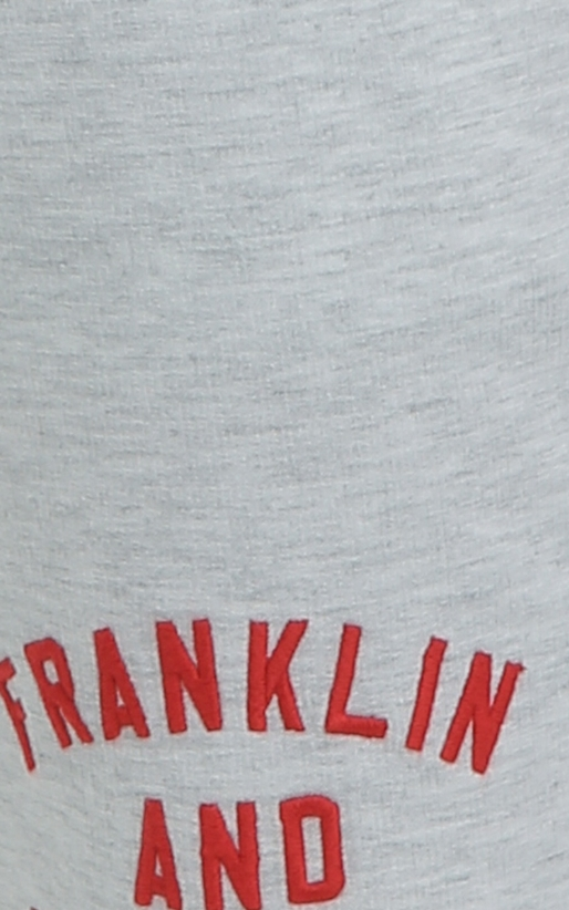 FRANKLIN & MARSHALL-Ανδρική βερμούδα Franklin & Marshall γκρι