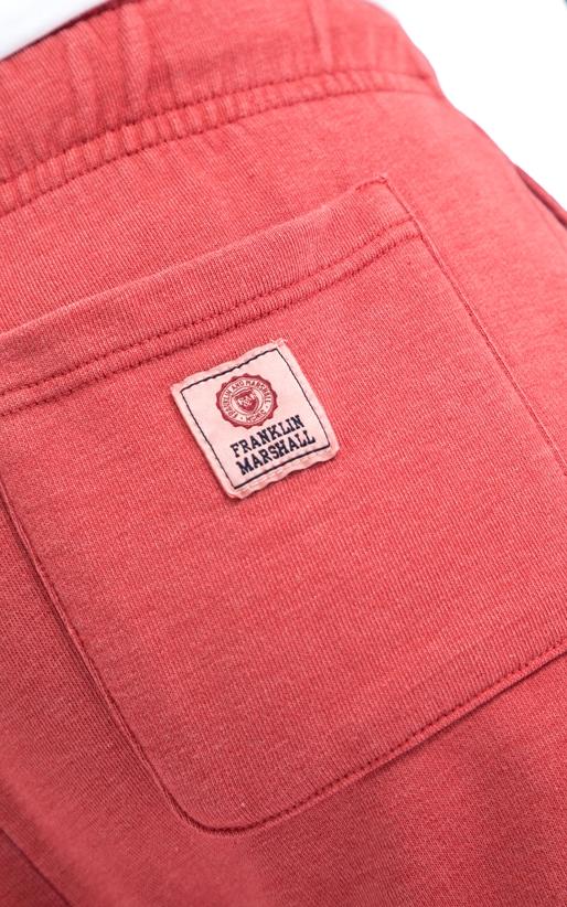 FRANKLIN & MARSHALL-Ανδρική βερμούδα Franklin & Marshall κόκκινη