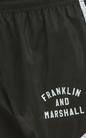 FRANKLIN & MARSHALL-Γυναικείο σορτς Franklin & Marshall μαύρο